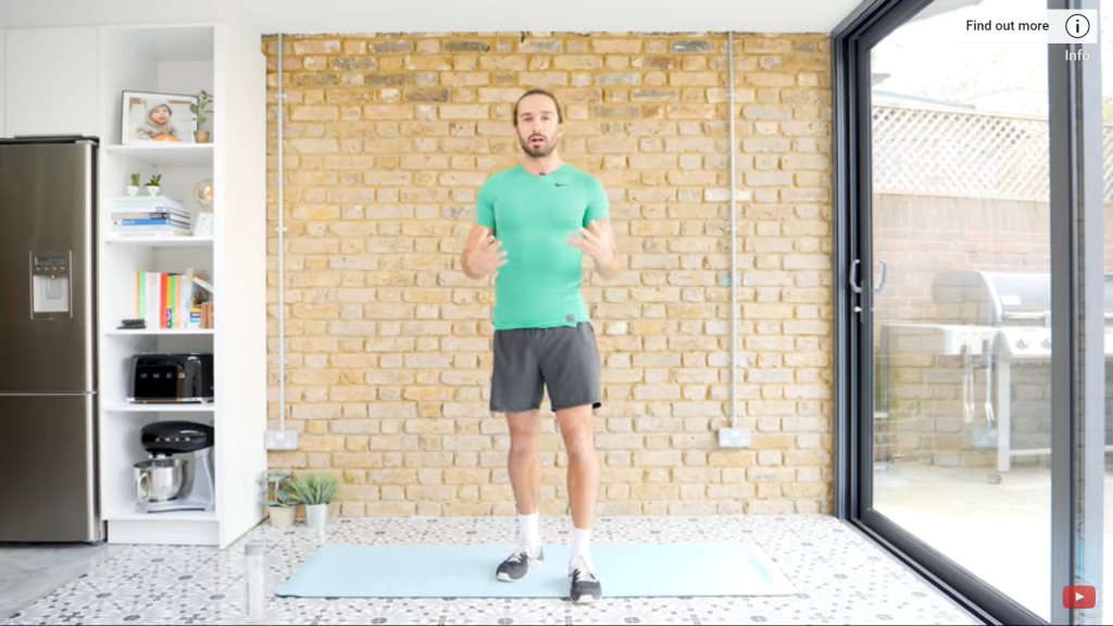 Low impact beginner's workout
