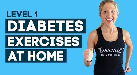 diabetes exercises at home