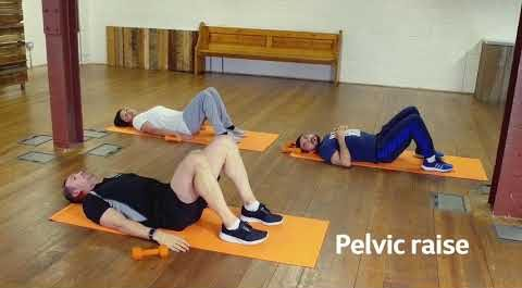 lying down exercises for MS