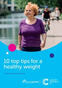 10 top tips for a healthy weight