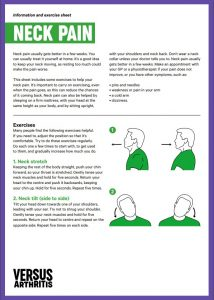 Neck pain exercises