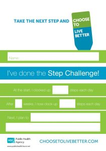 Step challenge certificate
