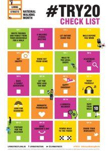 #Try 20 checklist