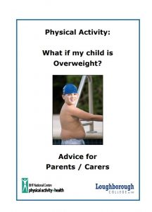 What if my child is overweight?